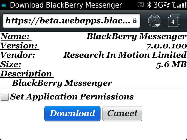 download new bbm version